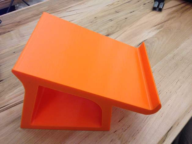 Space-Saving MacBook Pro Stand by soyamonger - Thingiverse