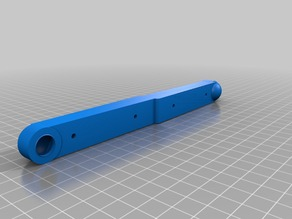 final parts 5>> 3 part Vauxhall Corsa clutch linkage replacement ..re design