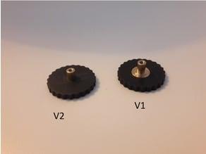 Anycubic i3 Mega Bed level knob 14mm