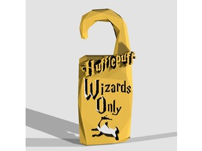 """Wizards Only"" Hufflepuff - by Objoy Creation"