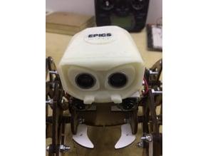 HELMET for the VENNOM robot adaptable to the HC-SR04 sensor