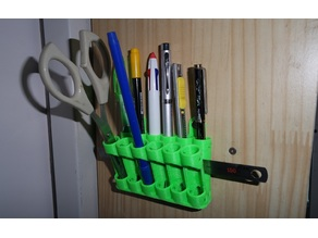 Pencil Holder - Wall or Stand type
