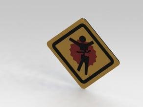 Halo 3 Splatter Sign