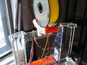 Filament Spoolmount Rollers For Folger Tech Prusa I3