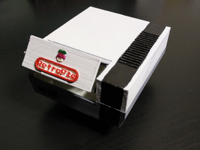 RetroPie Case: (Raspberry Pi 2 Model B or Raspberry Pi B+)