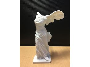 Winged Victory of Samothrace (Easier printing with very minimal supports)