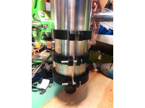 MPCNC tool mount 80mm 2.2kW spindle(water cooled) + 1.5kW version