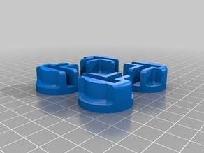 Feet for CTC 3D-Printer
