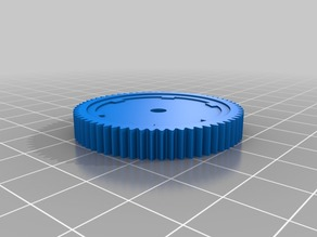 Spur Gear RC motor