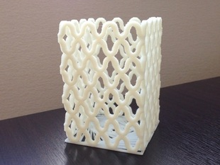 Amime Pattern Pen Stand