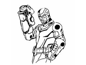 TT Cyborg stencil