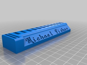 USB stick and SD card holder Fisher 1