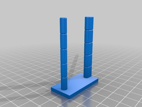 3mm to 11mm Retraction Calibration Pillars