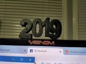 2019 Desk Display