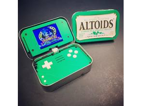 mintyPi (Raspberry Pi gaming handheld in an Altoids mint tin!)