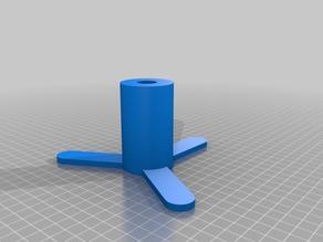 Horizontal spool holder