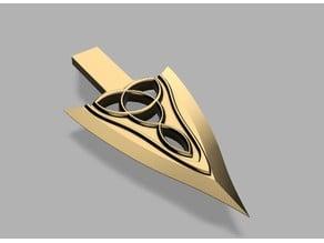 Fantasy Elven Arrowhead arrow.