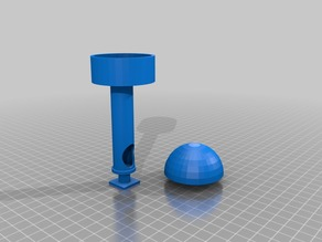 Tally tower hotshoe /w cover sphere