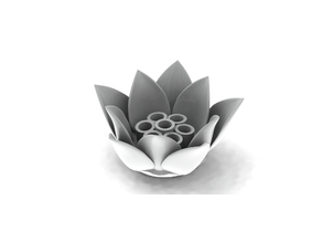 Lotus Pen Holder