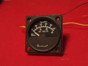 Electric Bezel - gauge electrique overhead -beechcraft b200
