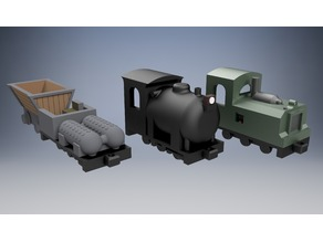 HO Scale - Fireless Industrial Locomotives