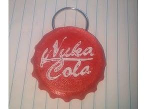 Fallout Nuka Cola keychain 1-piece