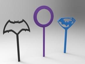 batman vs superman bubble wands