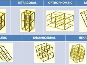 Customizable cristalline structure