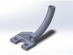 Another Ender 3 Filament Guide, with multiple angles