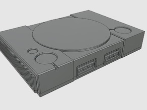 Playstaion Pi Mini (Raspberry Pi 2 + 3 Case)