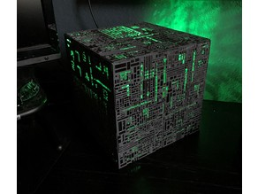 Star Trek Borg Cube PC Case (Mini-ITX motherboard and power supply)