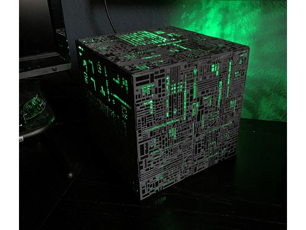 Star Trek Borg Cube PC Case (Mini-ITX motherboard and