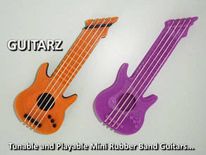 Guitarz - Tunable and Playble Mini Guitars