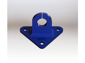 Cam Mount for Micro Brushless FPV Racer like PicoBLX 20x20mm