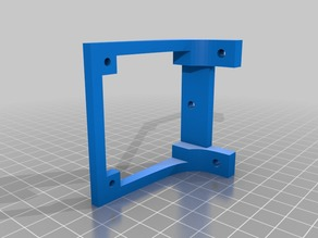 Fan holder for 3D printer's mothercard