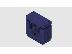 55mm Motor Mount for 60mm or 80mm Extrusion