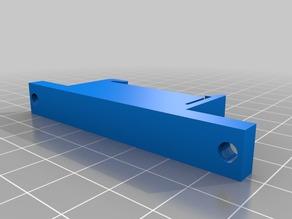 66m  PCB DIN rail mounting clip