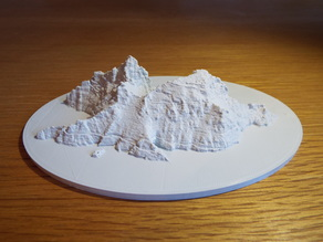 Skellig Michael Model - Star Wars Filming Location