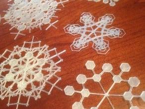 Customizable Snowflake