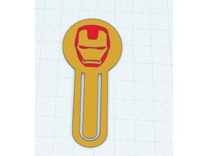 Iron Man Bookmark