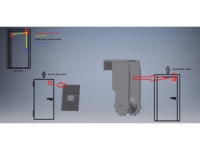 Automatic doorcloser for people who cant close the door after themself