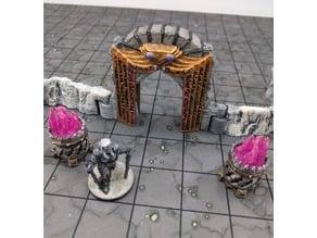 DungeonSticks: Caverns - Spider Archway