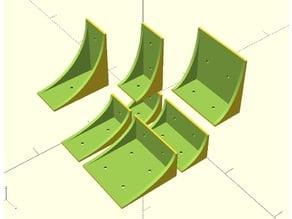 Parametric 90 degree bracket