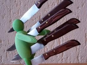 Ceppo porta coltelli