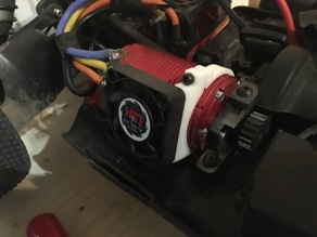 40mm Fanholder for 42mm Brushlessmotor 1:8