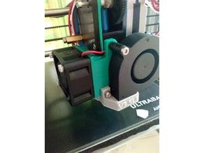 E3D V6 (Clone) 40mm fan mount