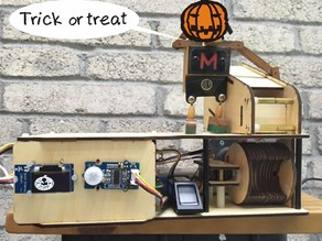 Halloween Candy Machine