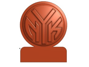 New York Knicks Logo Decoration