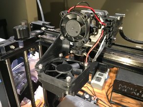 Makergear M3 Cooler to M2 Conversion