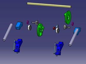 Prusa I3 filament Holder